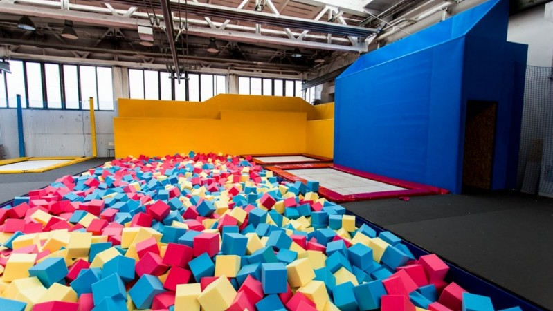 Freestyle und Walltrampolines